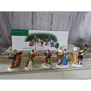 Dept 56 58410 here we come a wassailing set Dicken